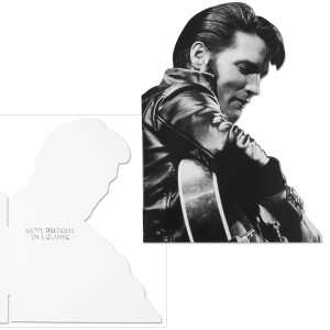 Elvis Presley Comeback Tour Happy Birthday Greeting Card