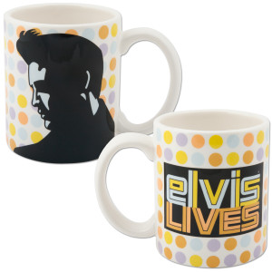 Elvis Lives 12 oz. Mug