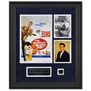 "Elvis Presley ""It Happened At The World's Fair"" Framed Presentation"