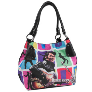 Elvis '68 Special Block Purse