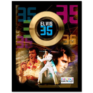 Elvis 35th Commemorative Anniversary Gold Presentation