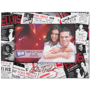 Elvis Ticket Art Picture Frame