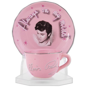 Elvis On My Mind Cup & Saucer Set