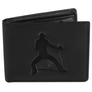 Elvis Jumpsuit Pose Trifold Cowhide Wallet