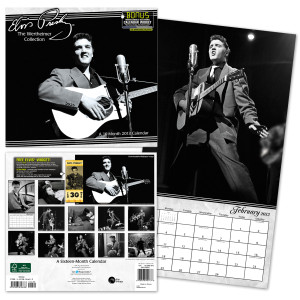 Elvis 2013 Wertheimer Collection 16 Month Wall Calendar