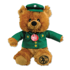 Elvis Teddy Bear Musical Squeezer Bear
