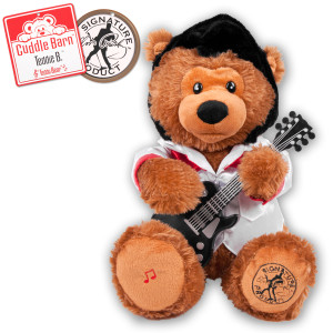 Elvis Teddie B Musical Bear