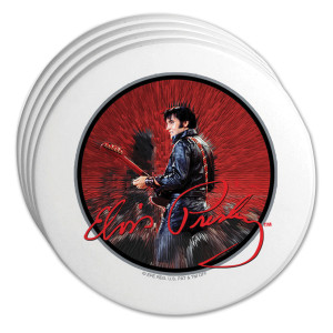 Elvis '68 Special Coasters Set of 4