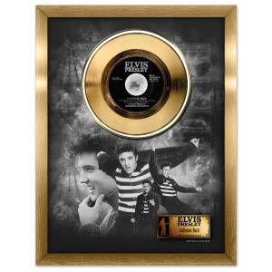 Elvis Jailhouse Rock Framed Gold Record