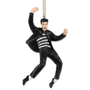 Elvis Jailhouse Rock Ornament