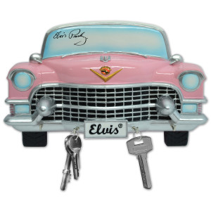 Elvis Pink Cadillac Key Rack