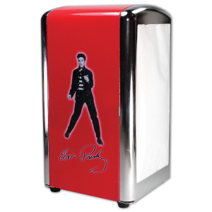 Elvis Jailhouse Rock Metal Napkin Holder