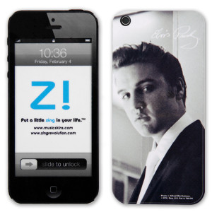 Elvis White Tie iPhone 5 Skin