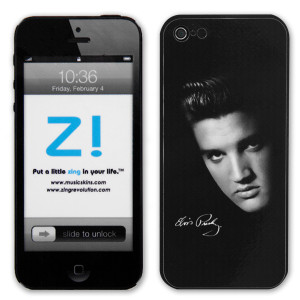 Elvis Portrait iPhone 5 Skin