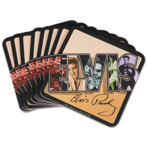 Elvis Collage Coasters