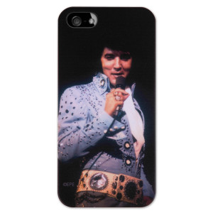 Elvis Owl Jumpsuit iPhone 5 Case