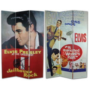 Elvis Hollywood Room Divider
