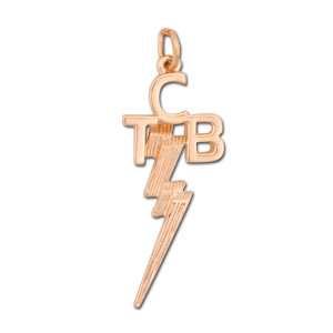 Elvis TCB 14K Gold Pendant