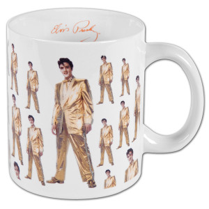 Elvis Presley Gold Suit 12oz Mug