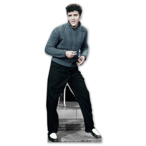 Elvis Presley Sweater Lifesize Standup
