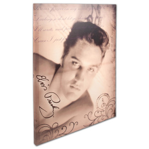 Elvis Postcard Love Letter Wall Art
