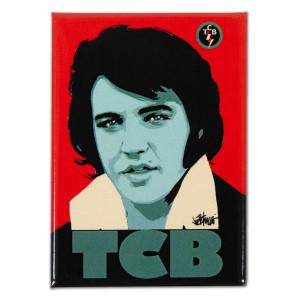 Elvis TCB Magnet