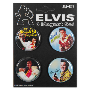 Elvis Hawaii Button Set
