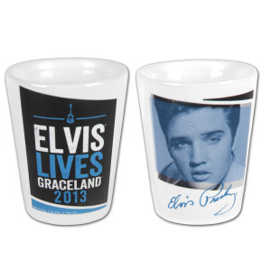 2013 Elvis Lives Shot Glass