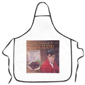 Elvis BBQ Apron