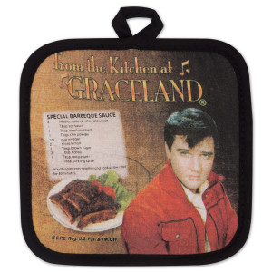 Elvis BBQ Potholder