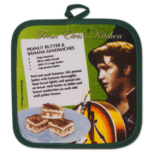 Elvis Green Potholder