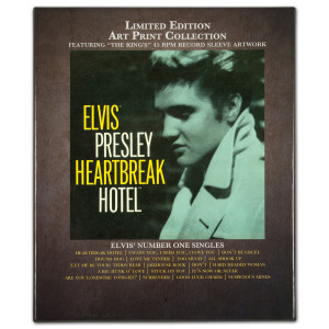 Elvis Limited Edition Record Sleeve Art Print Collection