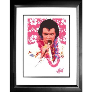 Elvis Aloha Limited Edition Joe Petruccio Art