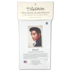 Elvis Profile Counted Cross Stitch Kit
