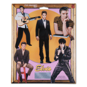 Elvis The Original Set of 5 Magnets