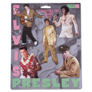 Elvis The Performer Set of 5 Magnets