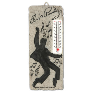 Elvis Presley - Silhouette Thermometer