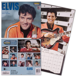 Elvis 2015 Wall Calendar