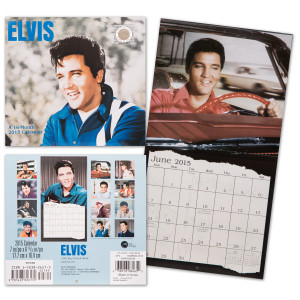 Elvis 2015 Mini Wall Calendar