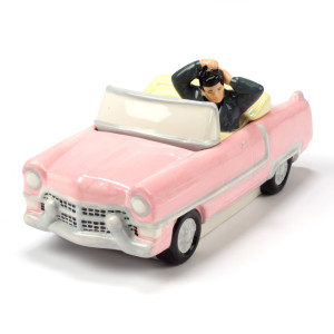 Elvis - Pink Convertible Ceramic Cookie Jar