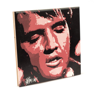 Elvis - Heart & Soul Ceramic Tile