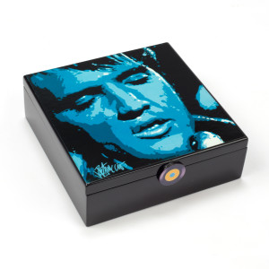 Elvis - Got the Blues Wooden Music Box