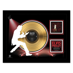 Elvis NBC Special - Gold LP Framed Memorabilia