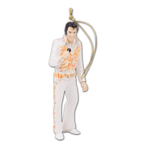 Elvis - Flame Suit Ornament
