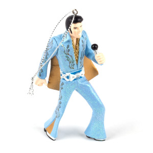 Elvis Presley - Blue Jumpsuit Ornament