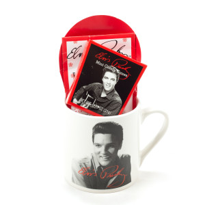 Elvis Presley Classic Hot Cocoa Gift Set