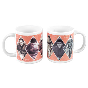 Elvis Presley - Love Me Tender 11 oz. Mug Set of 2