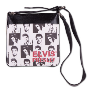 Elvis Presley - Collage Messenger Bag