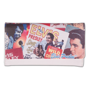 Elvis Presley - Biography Clutch Wallet