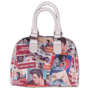 Elvis Presley - Biography Hand Bag